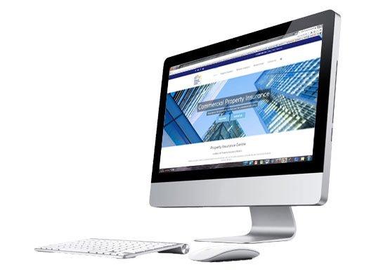 PIC's new insurance website design