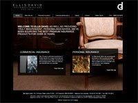 Old Ellis David Insurance Website