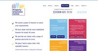 Old Property Insurance Centre Website