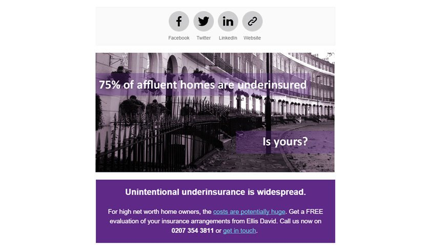 Insurance Email Marketing Services