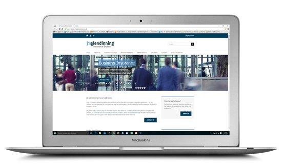 Insurance Search Engine Optimisation for J M Glendinning Insurance Brokers