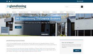 Insurance SEO for JM Glendinning