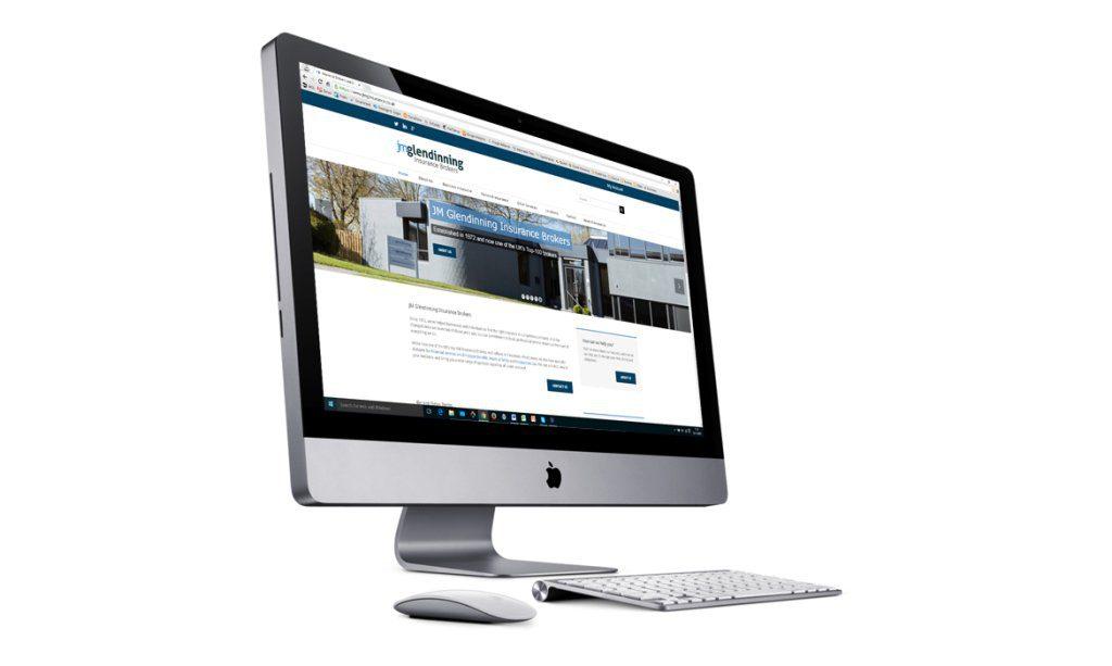 Insurance SEO services for J M Glendinning Insurance Brokers